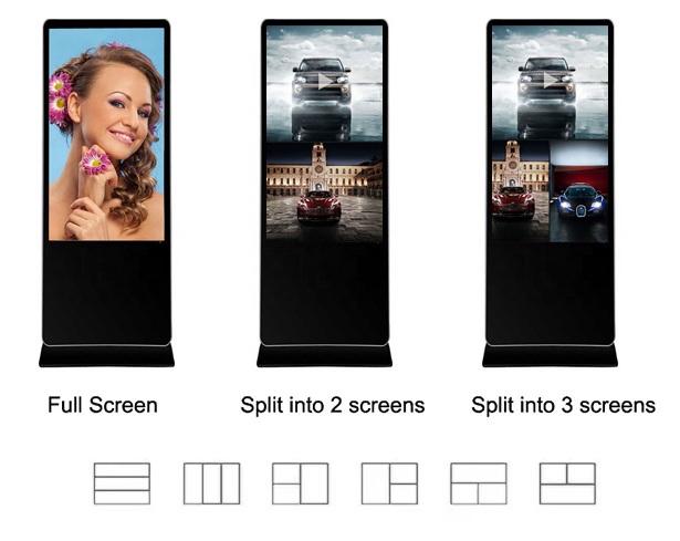 Máy quảng cáo dạng đứng cảm ứng HỒNG NGOẠI 43inch