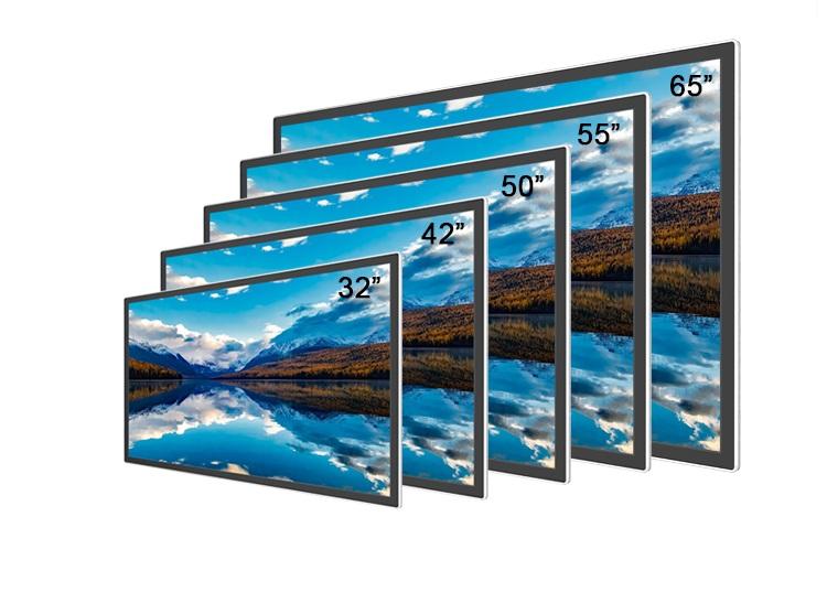 Màn hình quảng cáo treo tường cảm ứng HỒNG NGOẠI 65inch