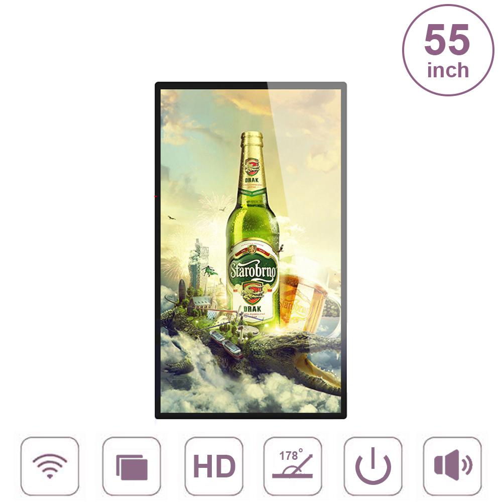 Màn hình quảng cáo treo tường không cảm ứng 55inch