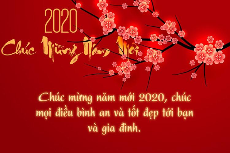 Thư Chúc Tết và Thông Báo Nghỉ Tết Canh Tý Năm 2020