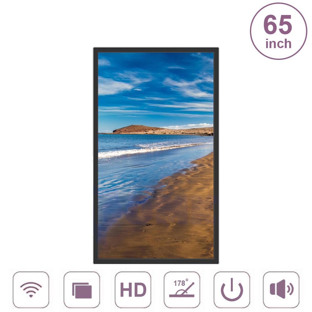 Màn hình quảng cáo treo tường không cảm ứng 65inch